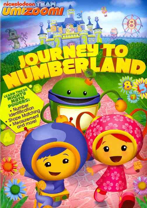TEAM UMIZOOMI:JOURNEY TO NUMBERLAND BY TEAM UMIZOOMI (DVD)
